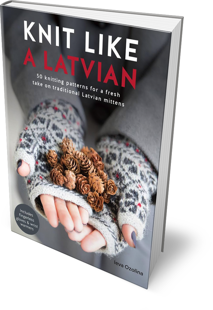 book knit like a latvian