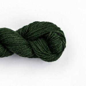 Wool Yarn, 100%, dark green