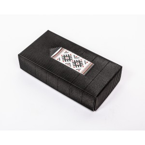 """Fingerless gloves DIY Knitting Kit """"Knit like a Latvian"""" – Twilight 5"""