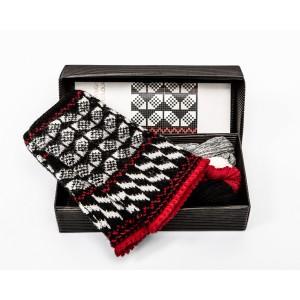 """Fingerless gloves DIY Knitting Kit """"Knit like a Latvian"""" – Twilight 6"""