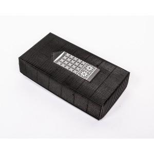 """Fingerless gloves DIY Knitting Kit """"Knit like a Latvian"""" – Twilight 8"""