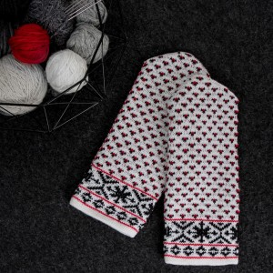 Knitted mittens, Latvian patterns 9