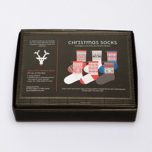 "Latvian Socks DIY Knitting Kit ""Knit like a Latvian""  – Christmas socks  CS-2"