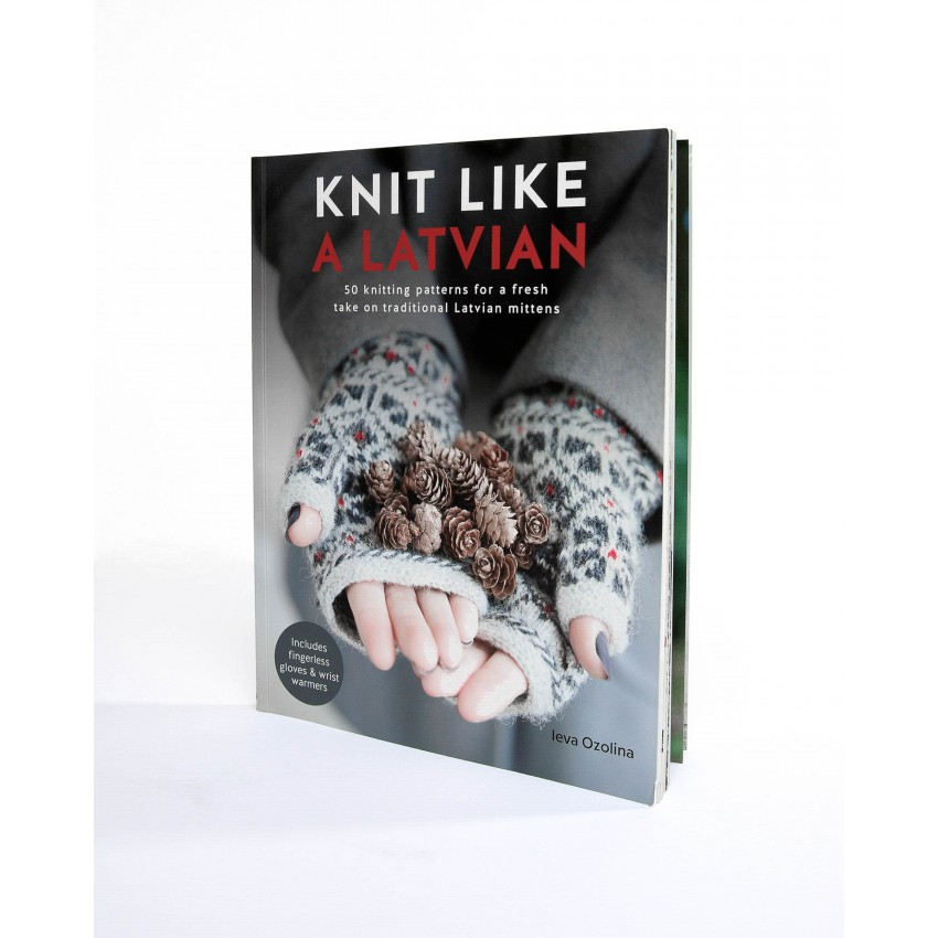 "BOOK of knitting patterns ""Knit like a Latvian"""