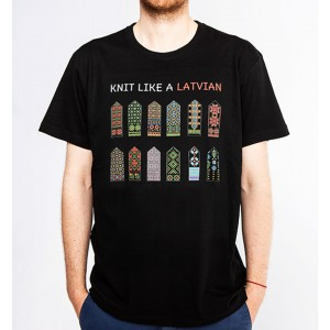 T-shirt with mittens - Kurzeme collection