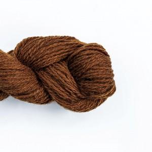 Wool Yarn, 100%, brown