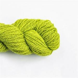 Wool Yarn, 100%, lettuce green