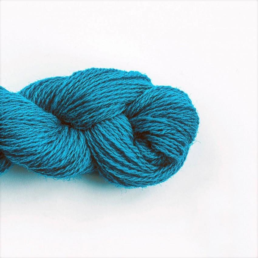 Wool Yarn, 100%, marine blue