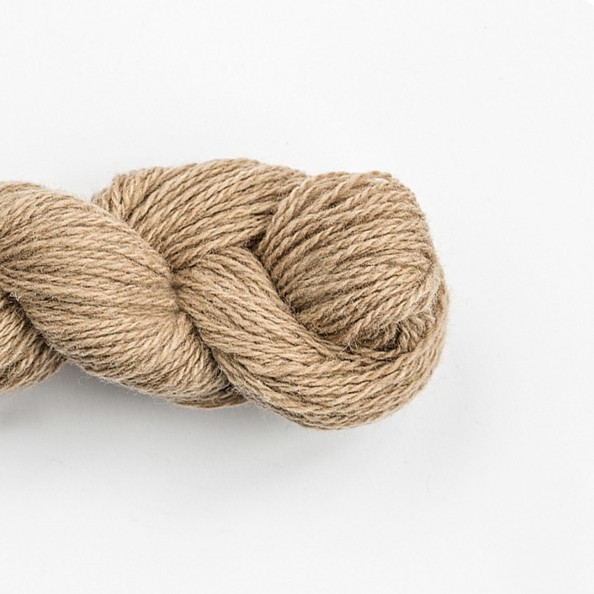 Wool Yarn, 100%, beige/sand