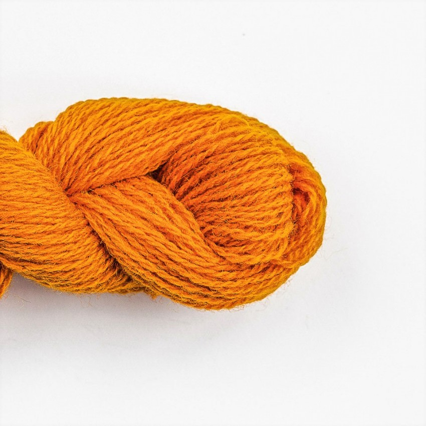 Wool Yarn, 100%, orange
