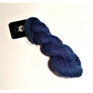 Wool Yarn, 100%, dark marine blue