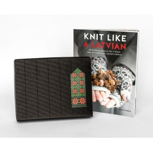 """SPECIAL OFFER Book """"Knit like a Latvian"""" & ANY knitting kit"""