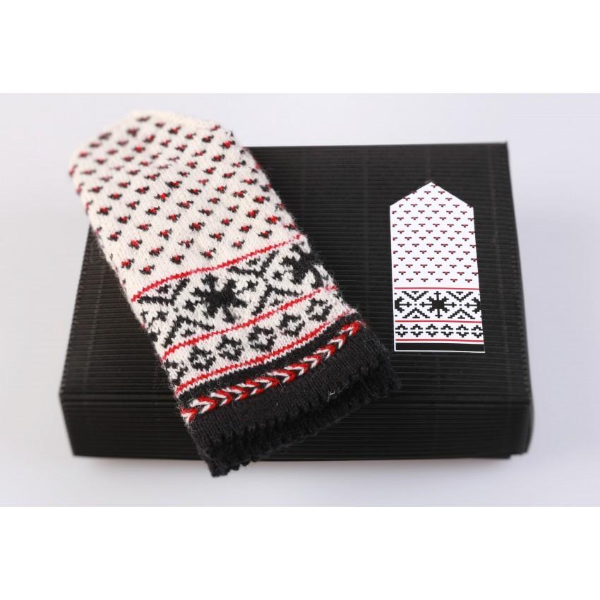 "Latvian Mittens DIY Knitting Kit ""Knit like a Latvian"" – Latvian Gray 5"
