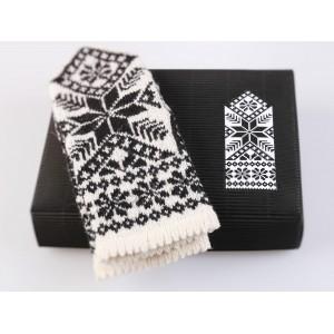 "Latvian Mittens DIY Knitting Kit ""Knit like a Latvian"" – Latvian Gray 8"