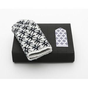"Latvian Mittens DIY Knitting Kit ""Knit like a Latvian"" – Midnight Flakes 12"