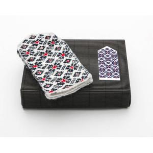 "Latvian Mittens DIY Knitting Kit ""Knit like a Latvian"" – Midnight Flakes 8"