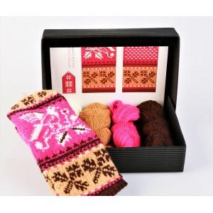 """Mittens DIY Knitting Kit """"Knit like a Muhu islander"""" - Muhu Inspiration 12"""