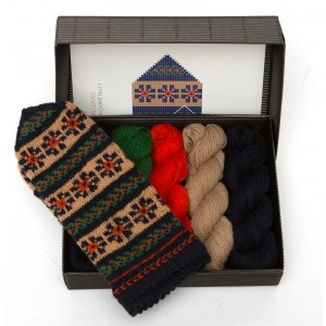 "Latvian Mittens DIY Knitting Kit ""Knit like a Latvian"" – Autumn Leaves 11"
