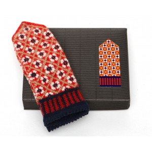 "Latvian Mittens DIY Knitting Kit ""Knit like a Latvian"" – Autumn Leaves 3"