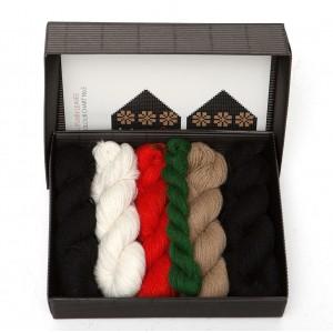 "Latvian Mittens DIY Knitting Kit ""Knit like a Latvian"" – Autumn Leaves 5"