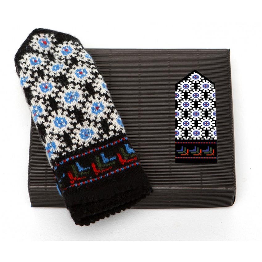 "Latvian Mittens DIY Knitting Kit ""Knit like a Latvian"" – Autumn Leaves 7"
