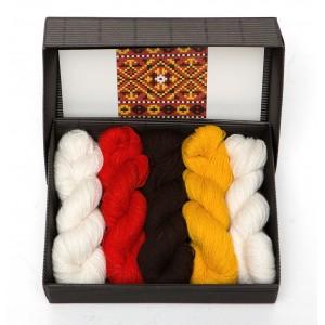 "Latvian Mittens DIY Knitting Kit ""Knit like a Latvian"" – Autumn Leaves 8"