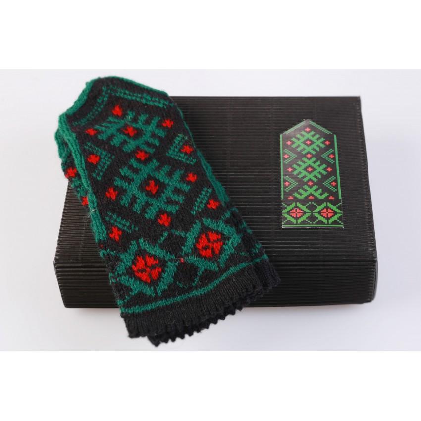 """Latvian Mitten DIY Knitting Kit """"Knit like a Latvian - Kurzeme 10"""