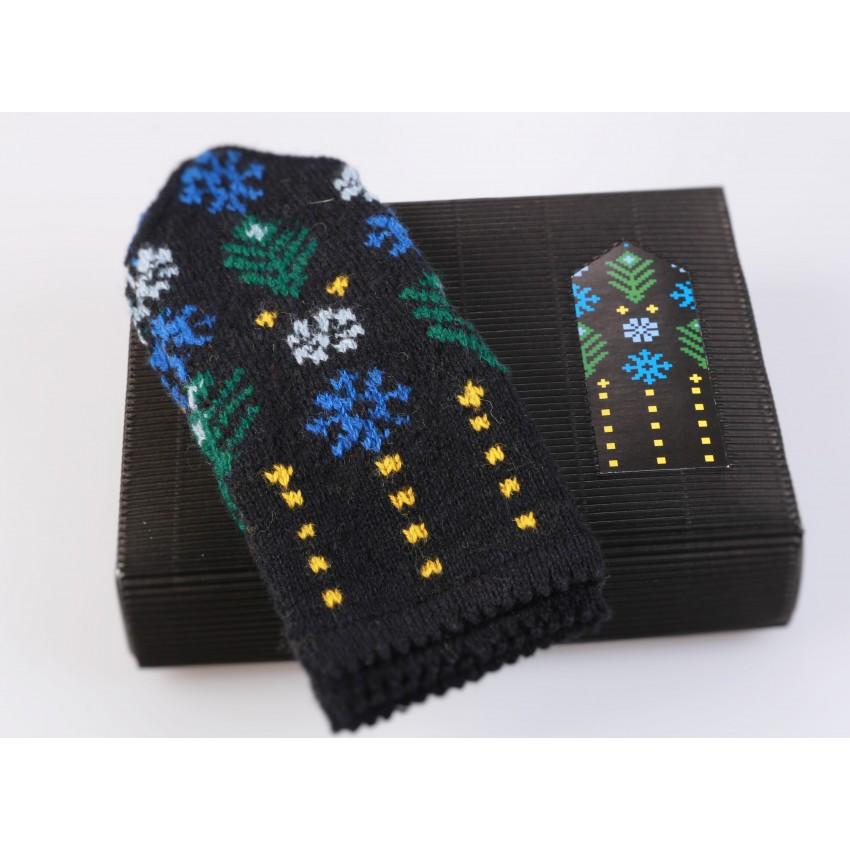 """Latvian Mitten DIY Knitting Kit """"Knit like a Latvian - Kurzeme 12"""