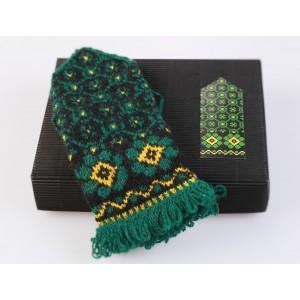 """Latvian Mitten DIY Knitting Kit """"Knit like a Latvian - Kurzeme 2"""
