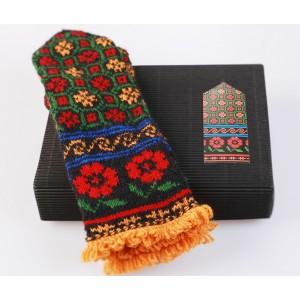 """Latvian Mitten DIY Knitting Kit """"Knit like a Latvian - Kurzeme 3"""
