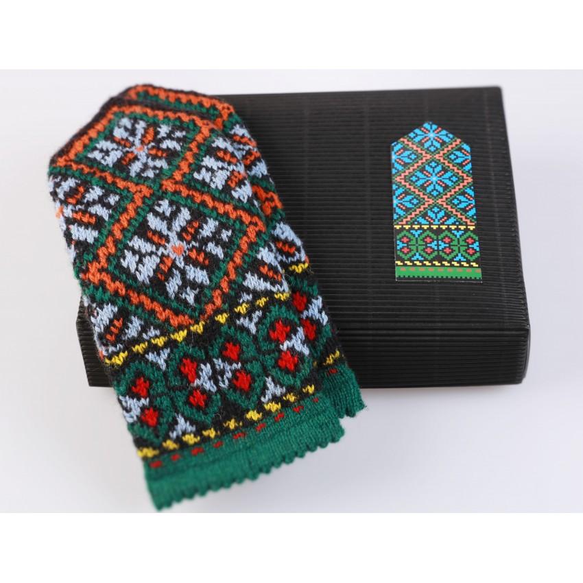 """Latvian Mitten DIY Knitting Kit """"Knit like a Latvian - Kurzeme 4"""