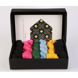 """Latvian Mitten DIY Knitting Kit """"Knit like a Latvian - Kurzeme 7"""