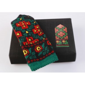 "Latvian Mitten DIY Knitting Kit ""Knit like a Latvian - Kurzeme 8"