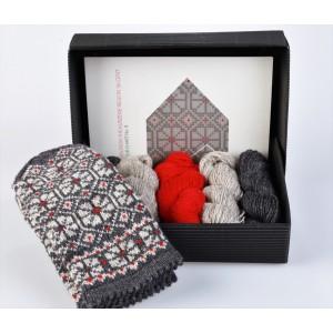 """Latvian Mitten DIY Knitting Kit """"Knit like a Latvian"""" - Kurzeme 9"""