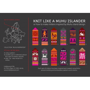 "Mittens DIY Knitting Kit ""Knit like a Muhu islander"" - Muhu Inspiration 2"