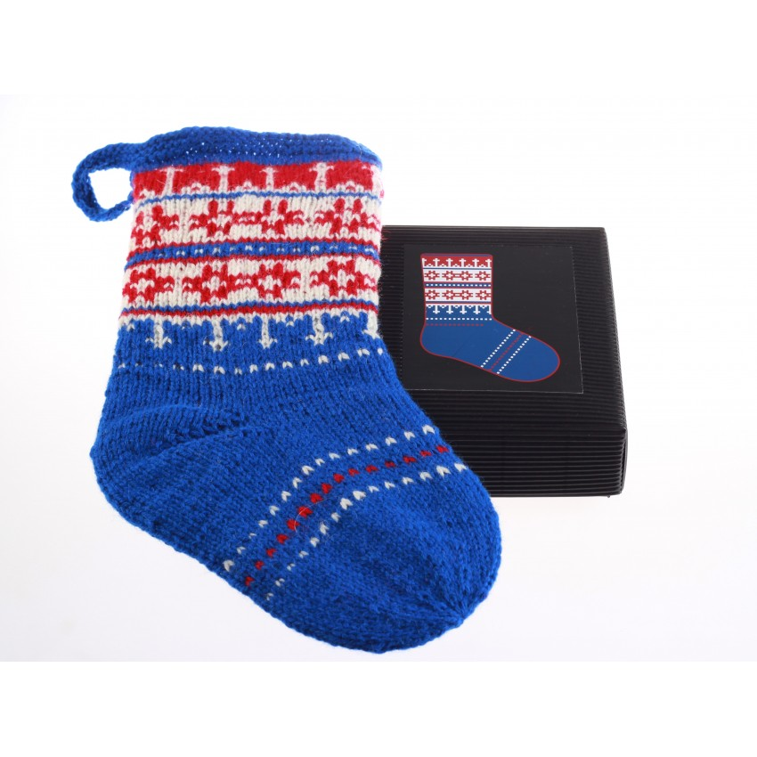 Knitting Kit - Christmas Stocking 4
