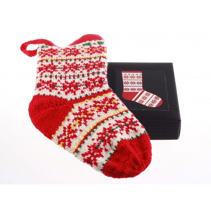Knitting Kit - Christmas Stocking 6