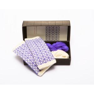 """Fingerless gloves DIY Knitting Kit """"Knit like a Latvian"""" – Springtime 10"""