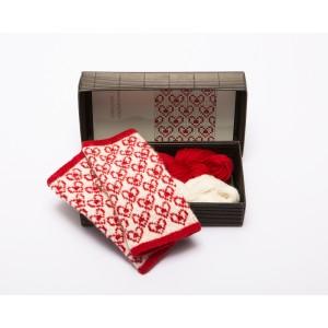"""Fingerless gloves DIY Knitting Kit """"Knit like a Latvian"""" – Springtime 6"""