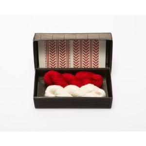 """Fingerless gloves DIY Knitting Kit """"Knit like a Latvian"""" – Springtime 7"""