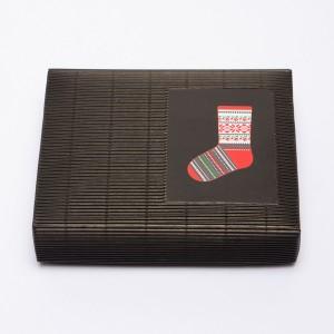 "Latvian Socks DIY Knitting Kit ""Knit like a Latvian""  – Christmas socks  CS-1"