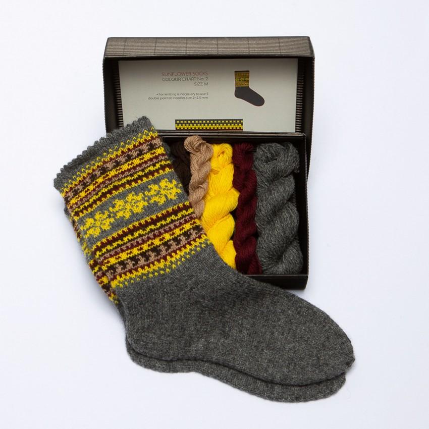 "DIY Knitting Kit ""Knit like a Latvian""  – Latvian Socks  NS-2"