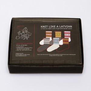 "DIY Knitting Kit ""Knit like a Latvian""  – Latvian Socks  NS-3"